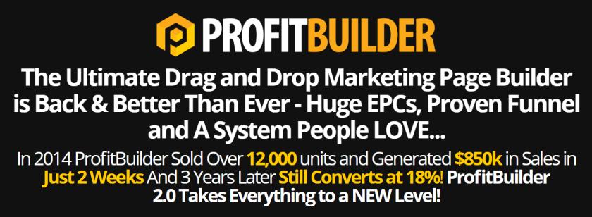 WP Profit Builder 2.0 Banner