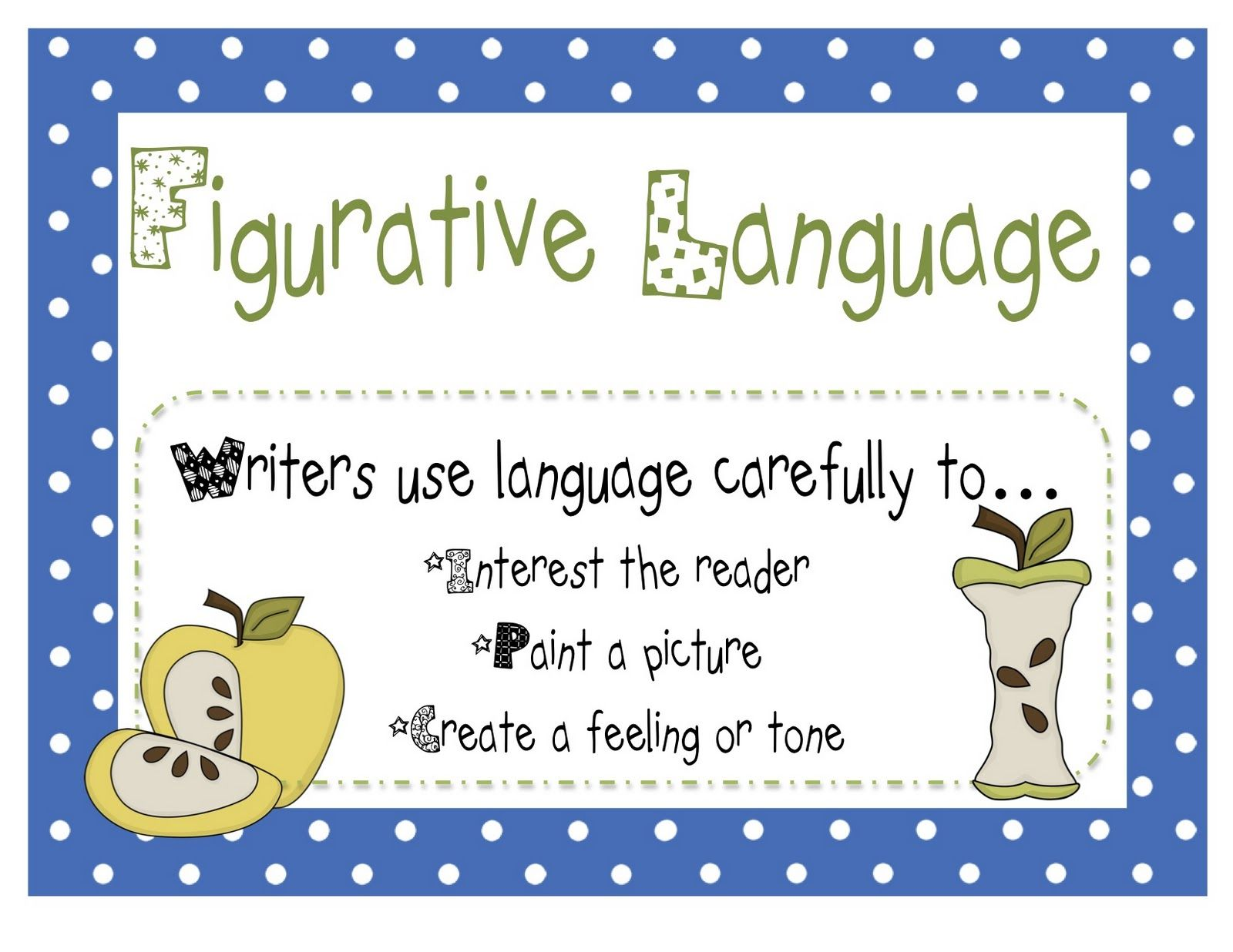 Buzzing With Ms B A Christmas Story And Figurative Language Freebies