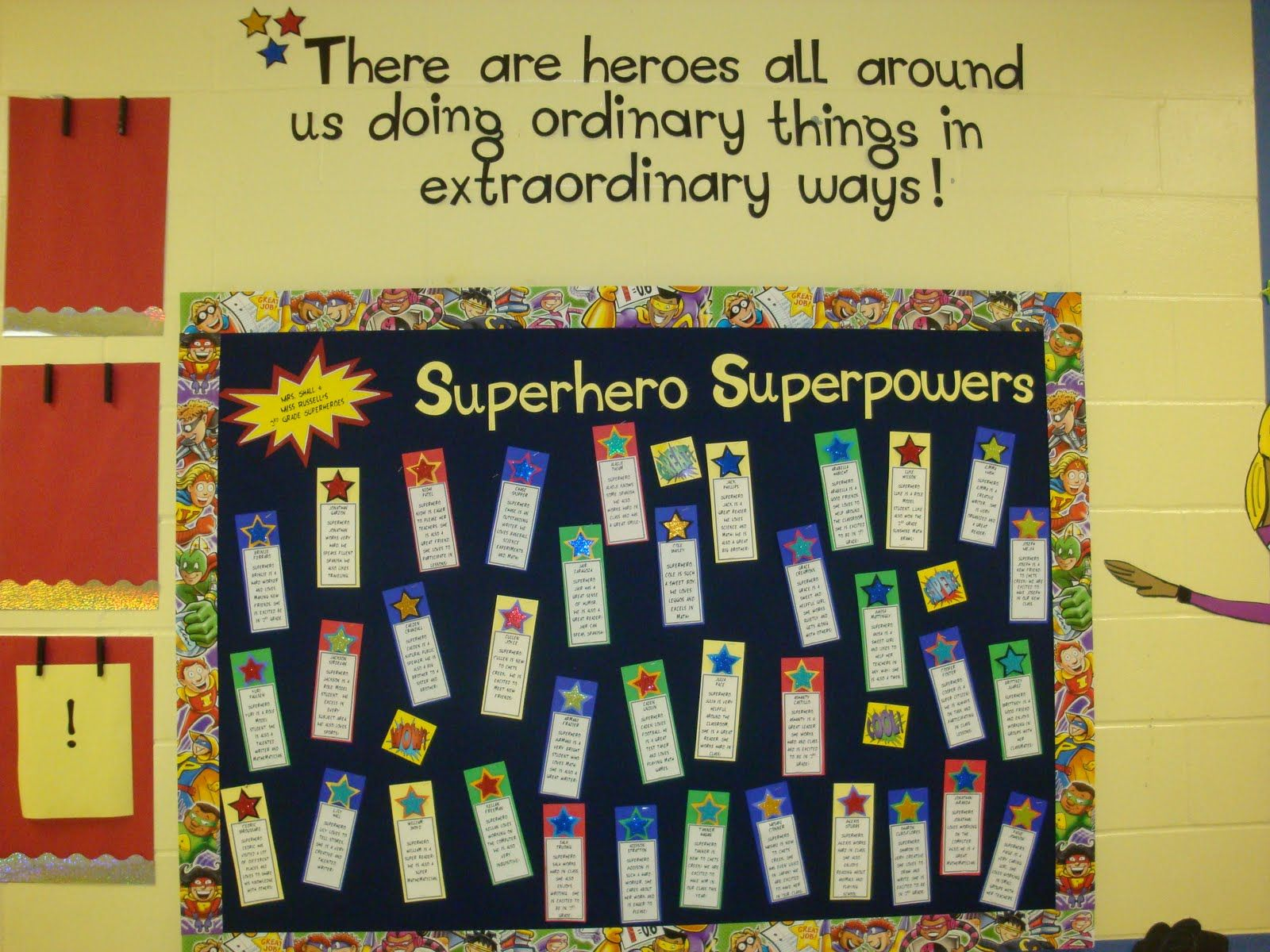 Superhero Classrooom