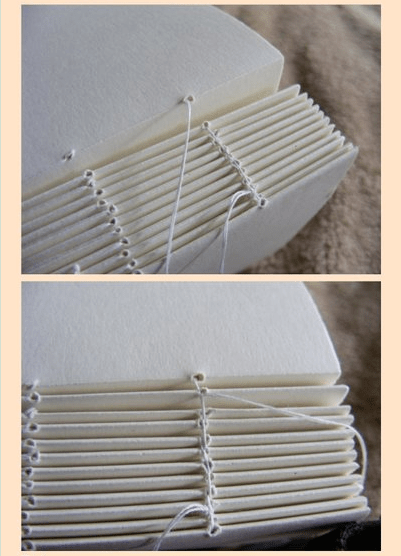 Click for a StepbyStep Bookbinding Tutorial (by James