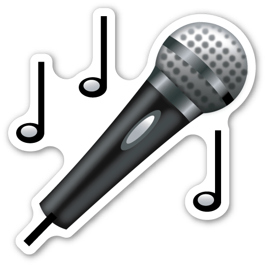 Microphone The emoji, Emojis and You are