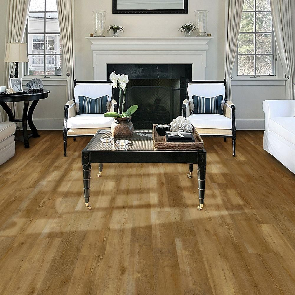 TrafficMASTER Allure Contract 6 in. x 36 in. Pacific Pine
