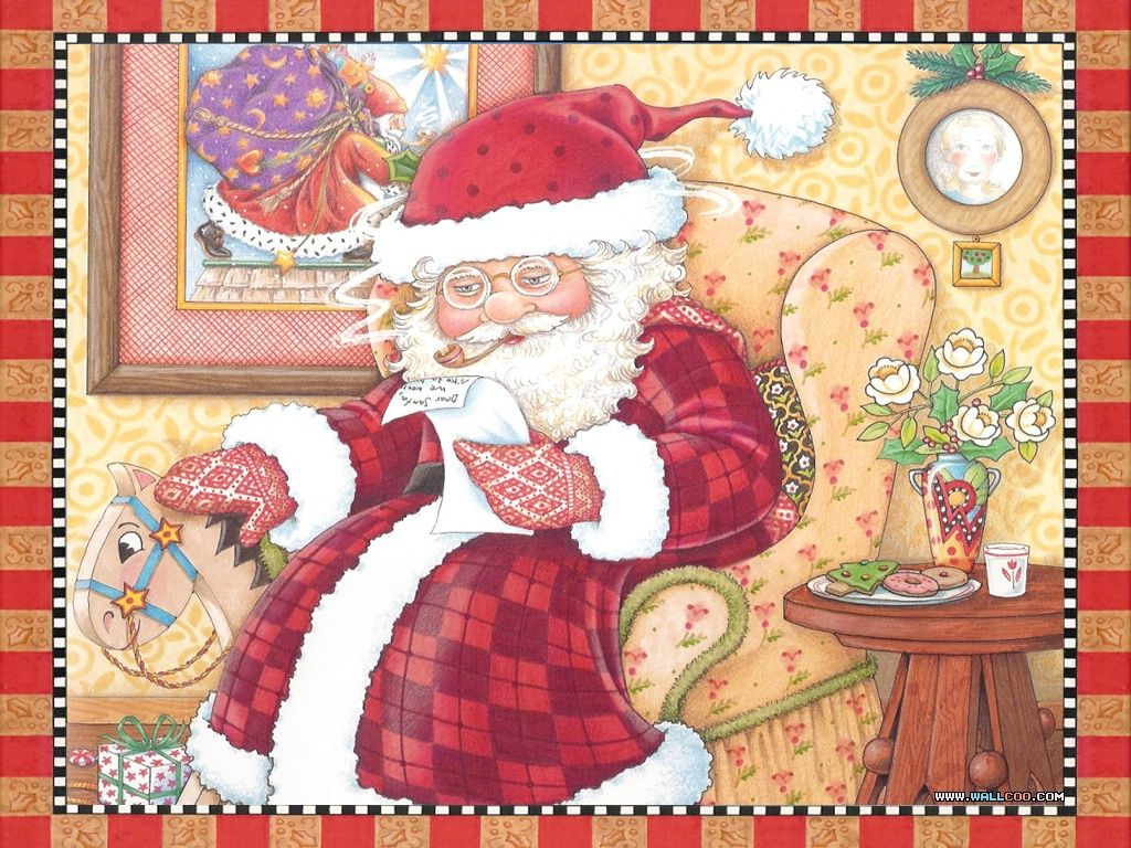 Wallpapers Of The Night Before Christmas Illustration 768 No 33 Wallpaper