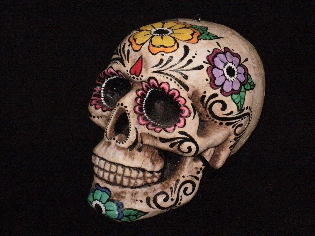 Love this art... Art Pinterest Sugar skulls
