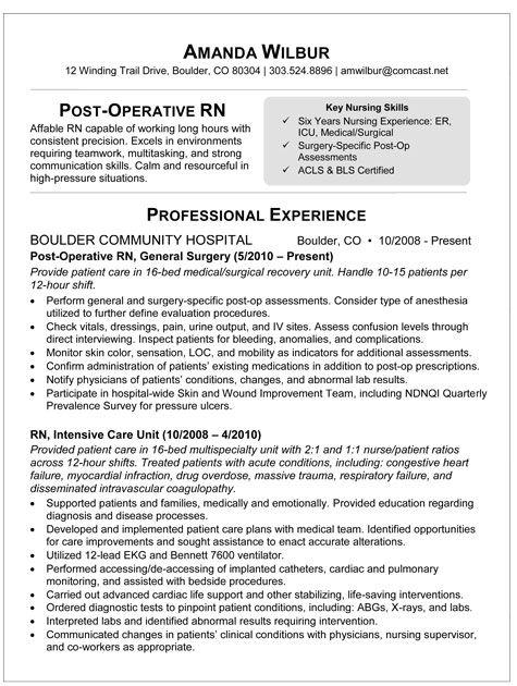 sample resume resume and rn resume on pinterest