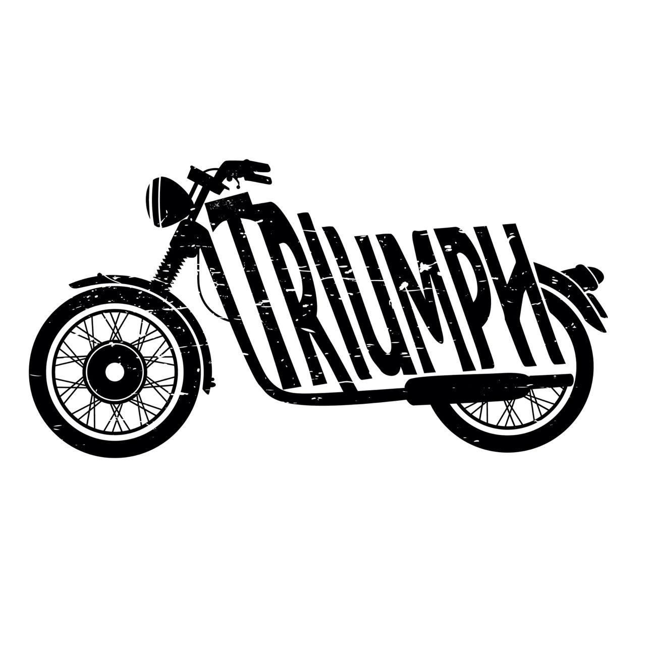Triumph Motorcycles Logo Vector Background 1