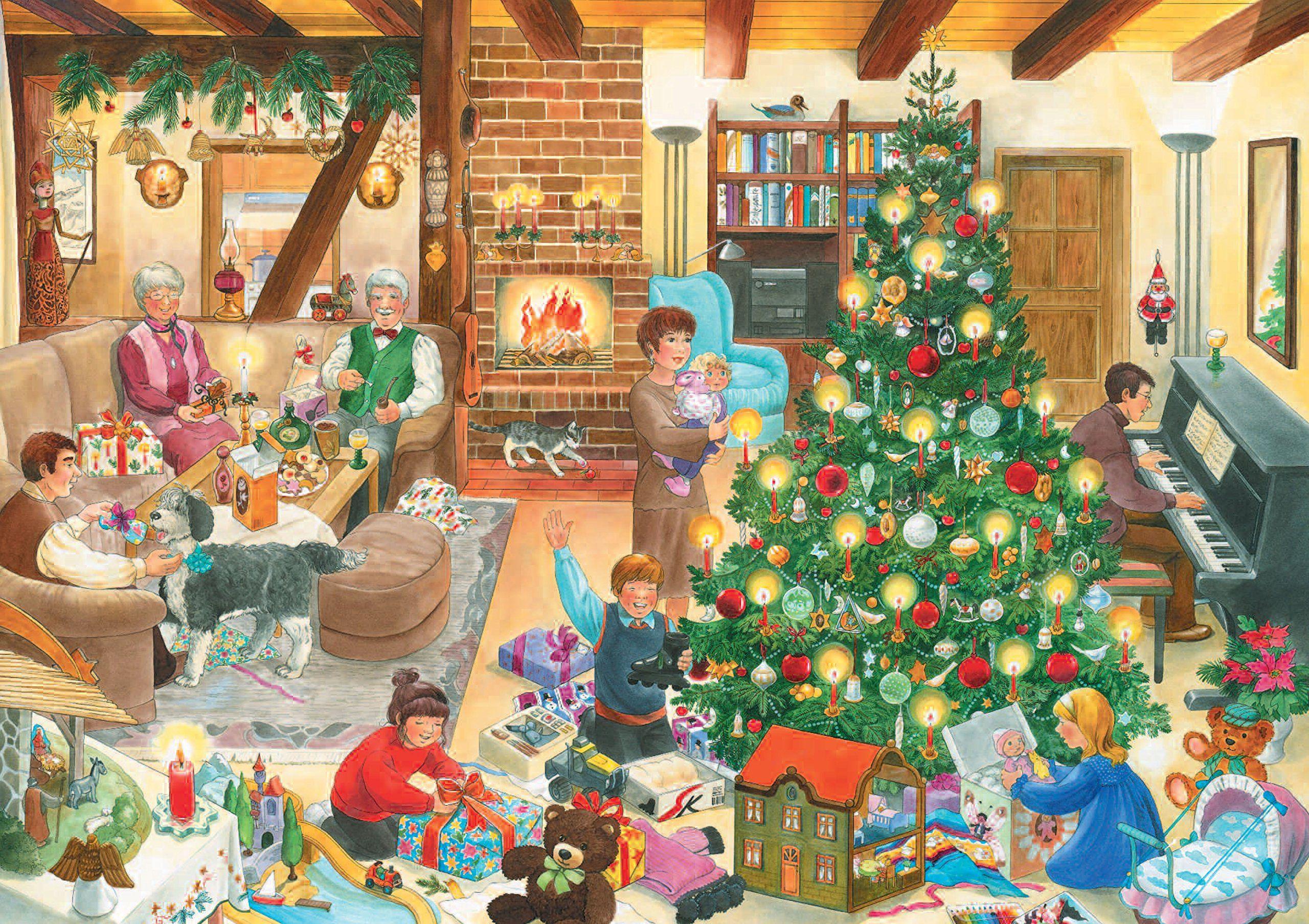 Weihnachtswimmelbuch Amazon Anne Suess Bucher