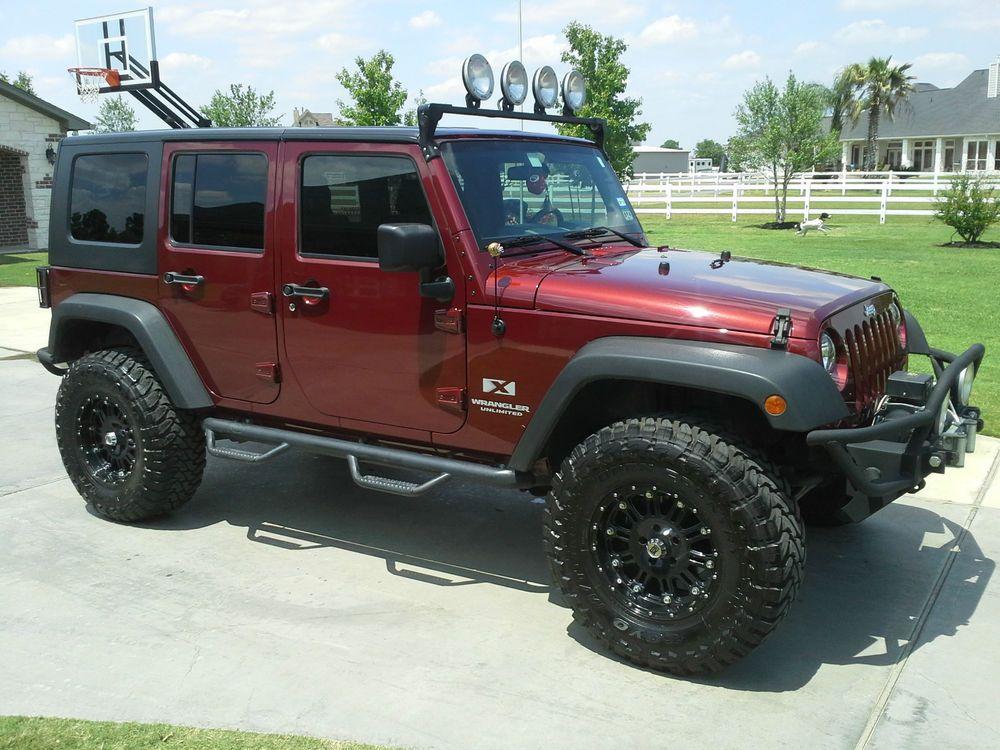 Jeep Wrangler Unlimited X Sport Utility 4Door Jeeps