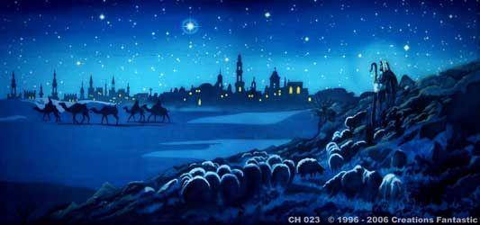 Backdrop CHB001 Bethlehem Christmas Pinterest