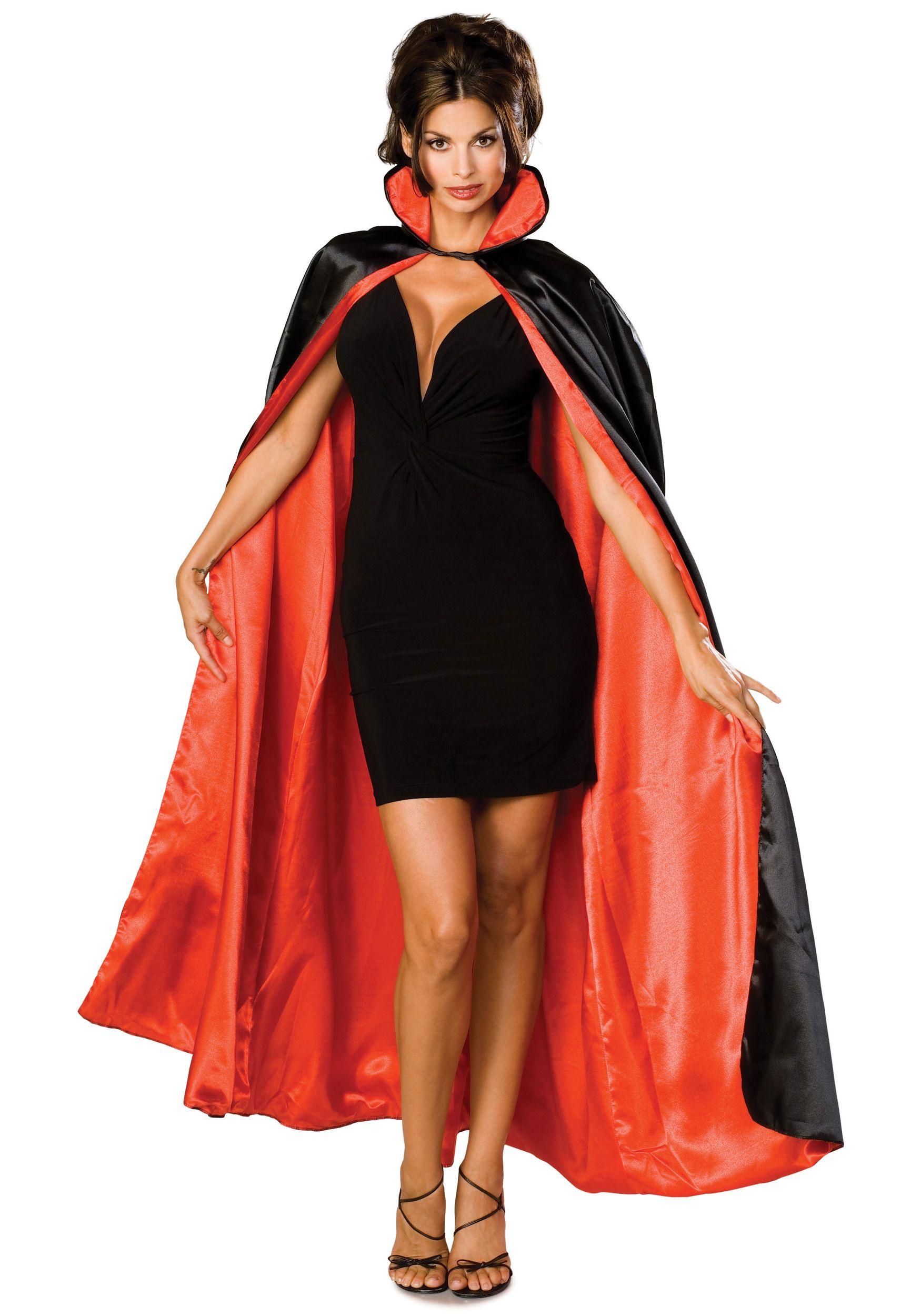 easy diy vampire costume; little black dress, heels, fake