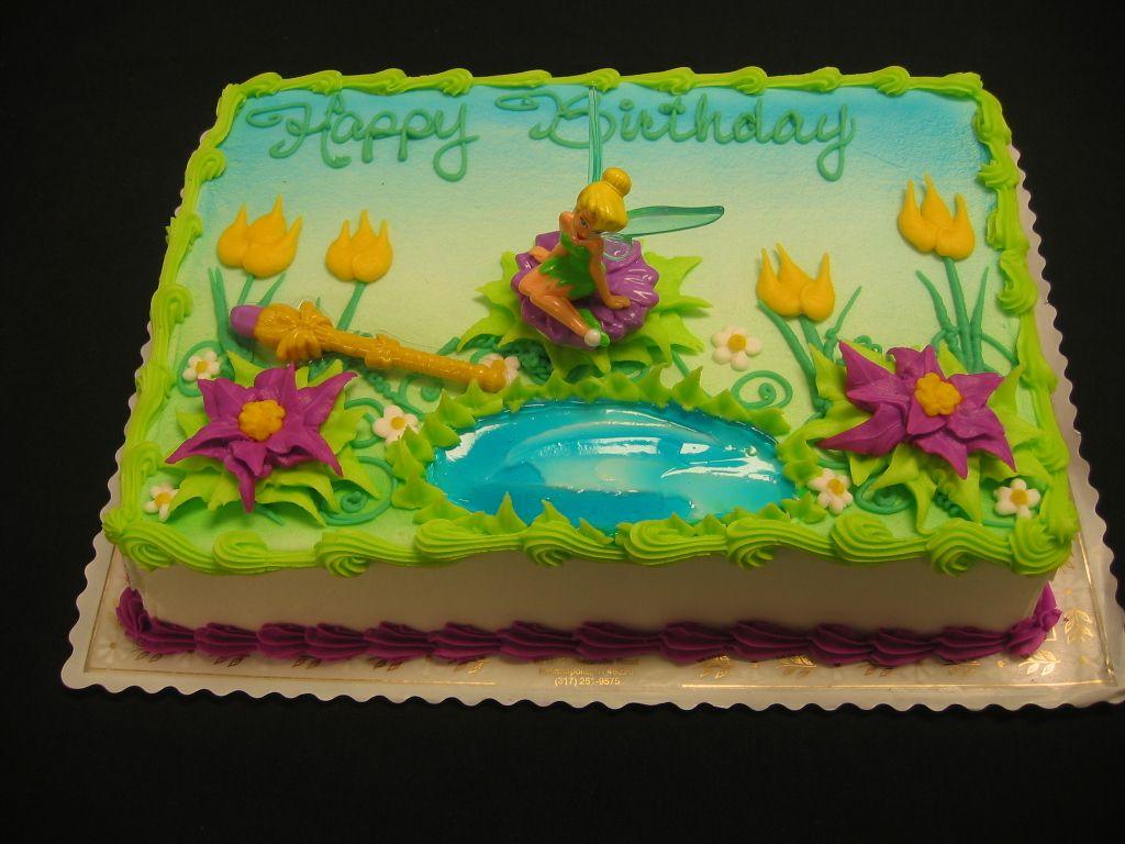 Tinkerbell Sheet Cakes
