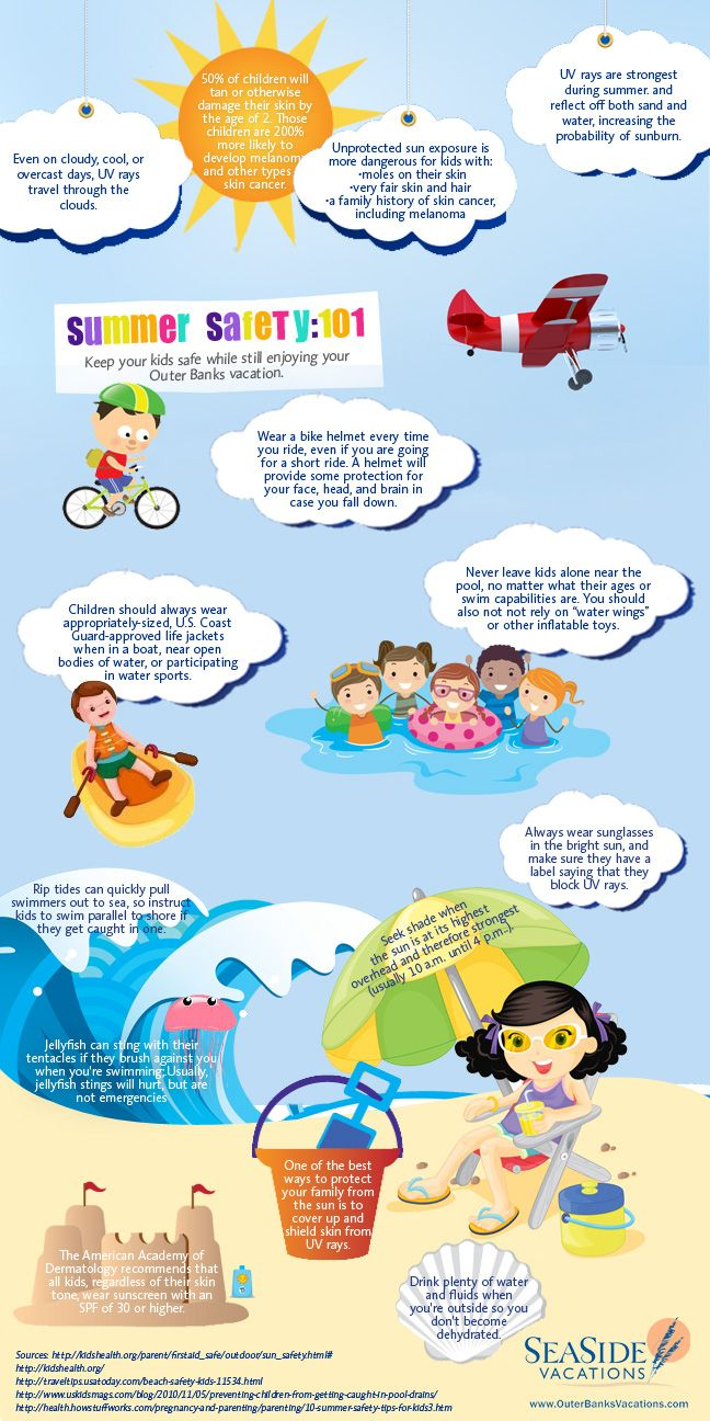 Summer Safety Tips for the Kids Sooo, we shouldn't have