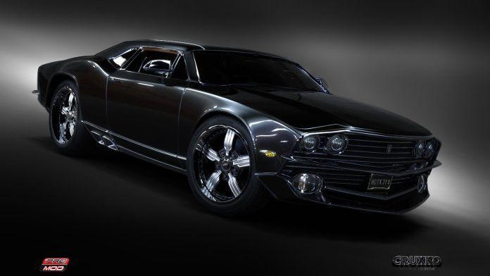 concept antique cars | concept car: classic muscle picture (3d