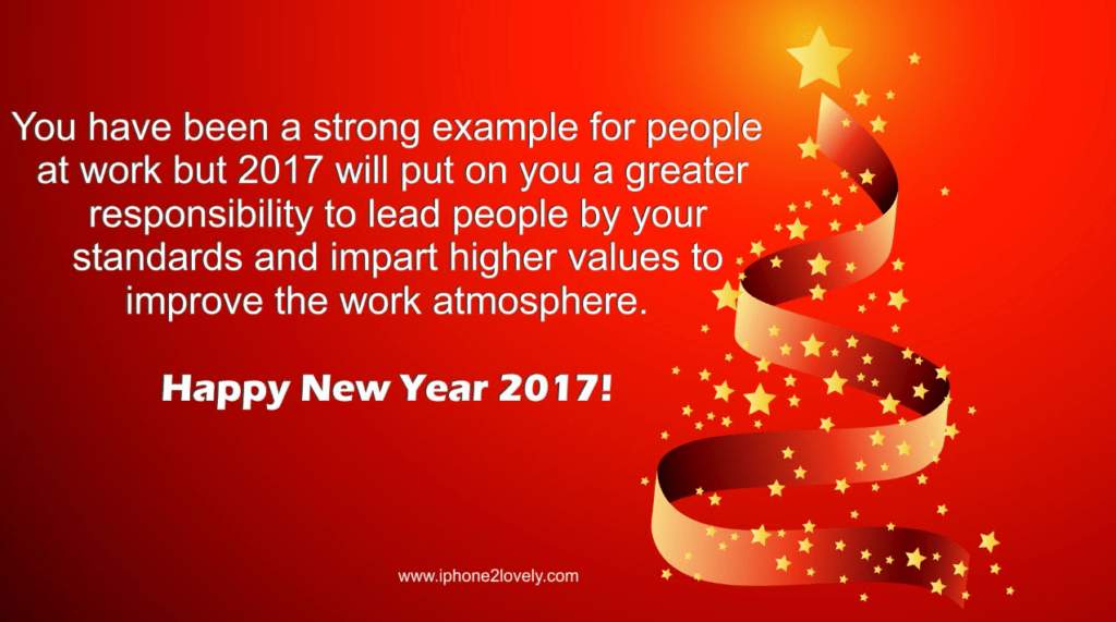 New Year Wishes For Work Colleagues Happy New Year 2018