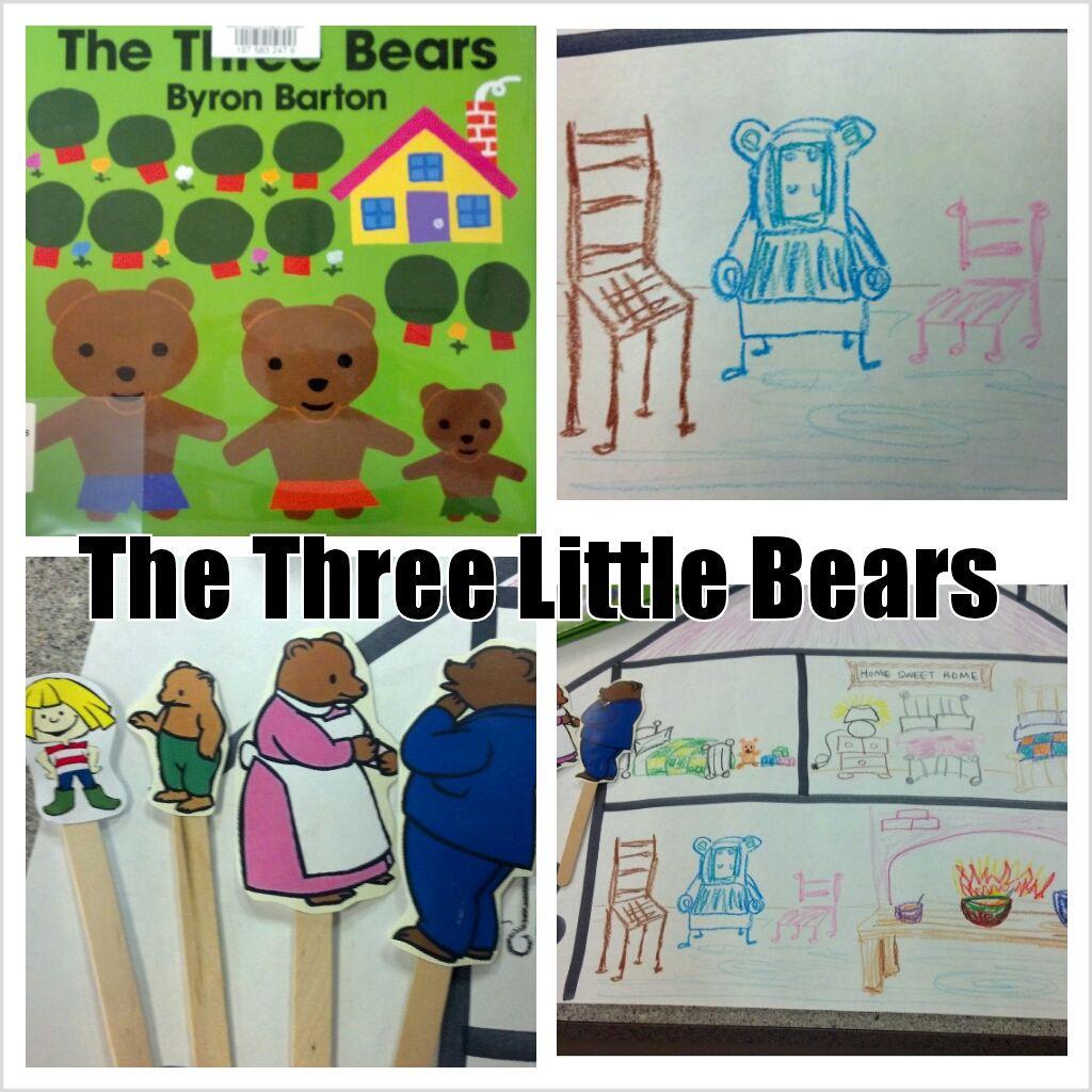 Goldilocks And The Three Bears Story Activities And