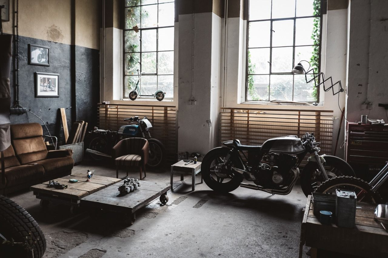 Caferacerpasion Garage By Hookie Comore Photos