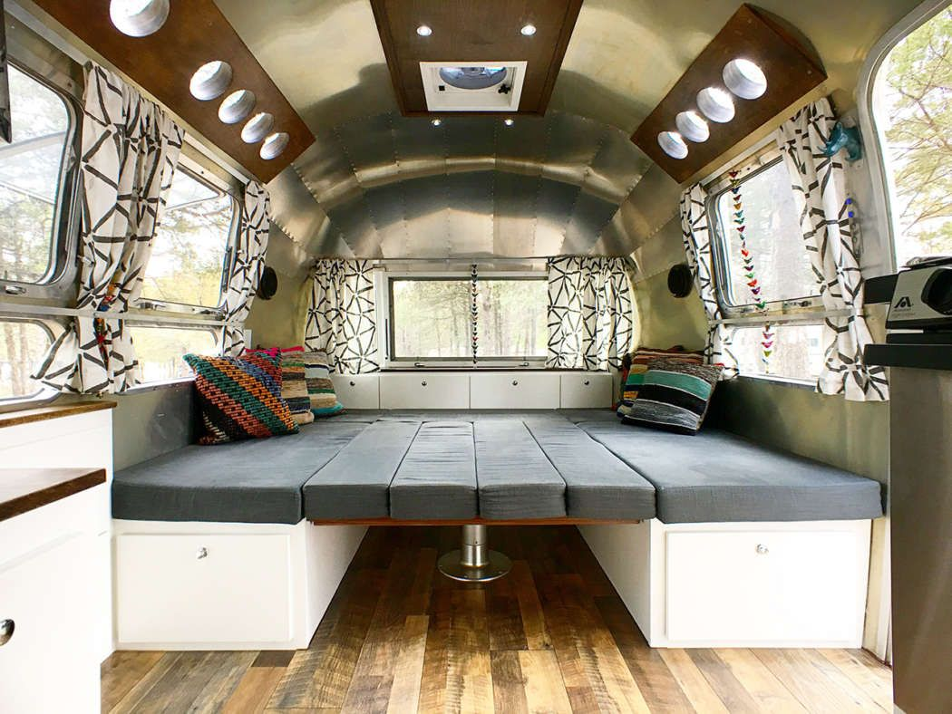Airstream Renovation Tour Before And After