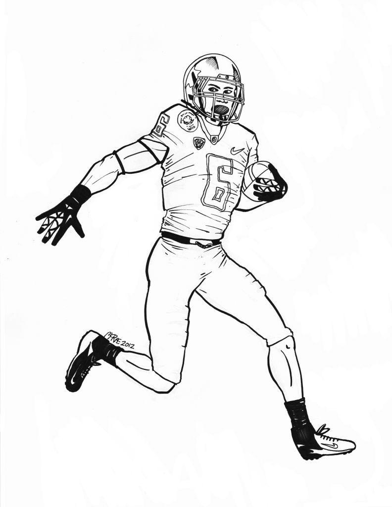 Denver Broncos Coloring Pages