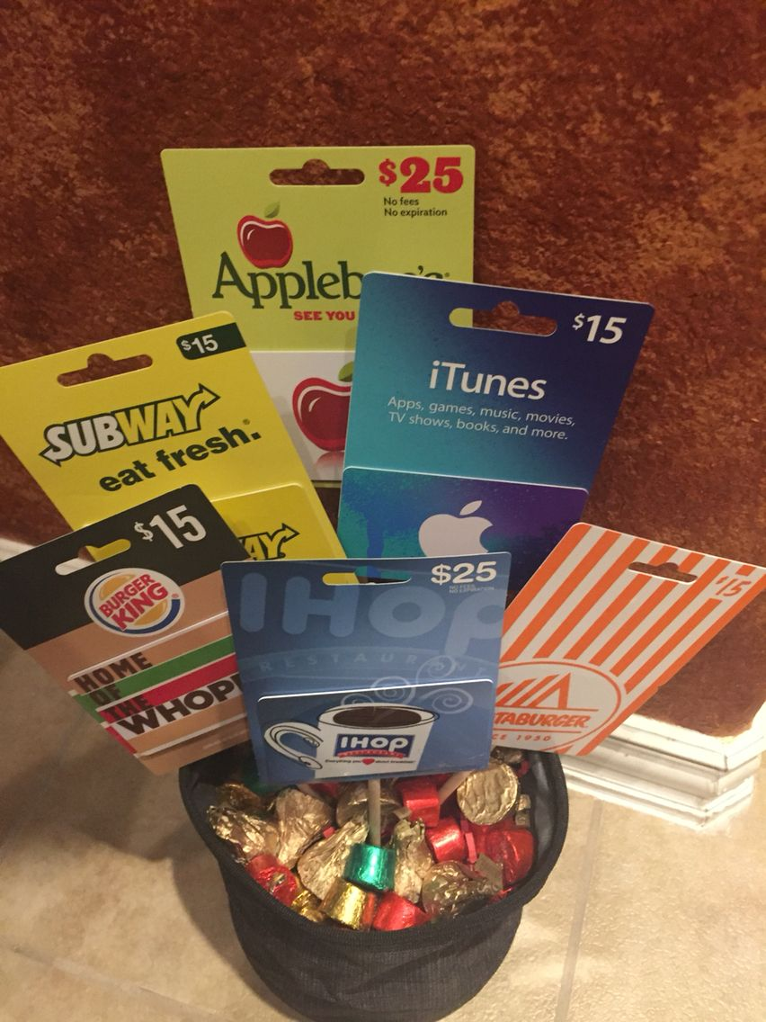 Gift Card Bouquet from my kids!!!! Clever gifts &. ideas