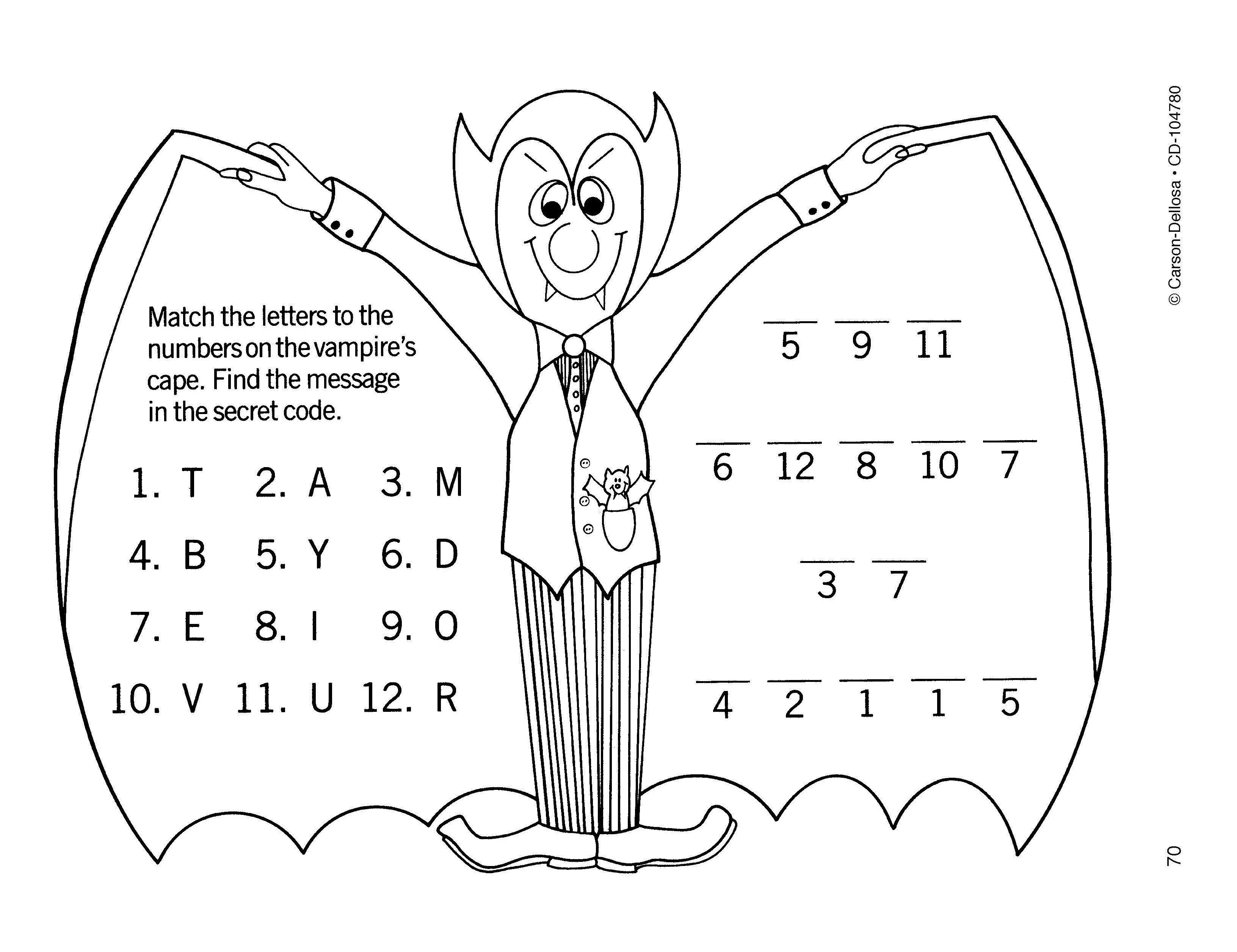 Dracula Secret Code