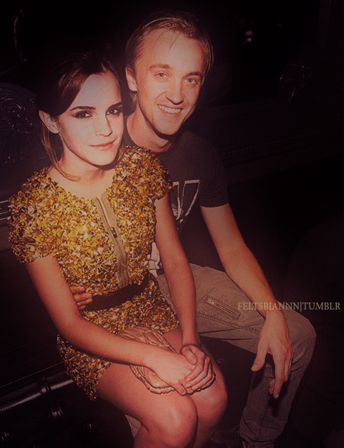 tom felton and emma watson. They need to get married