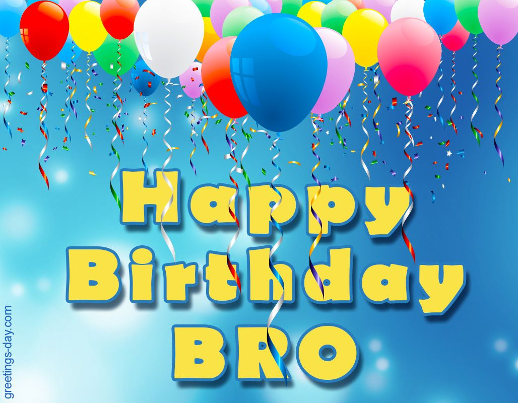 Happy Birthday Pics & Ecards for Brother. http