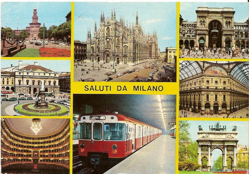 Le cartoline! Se io oggi ricevessi una cartolina sarei l