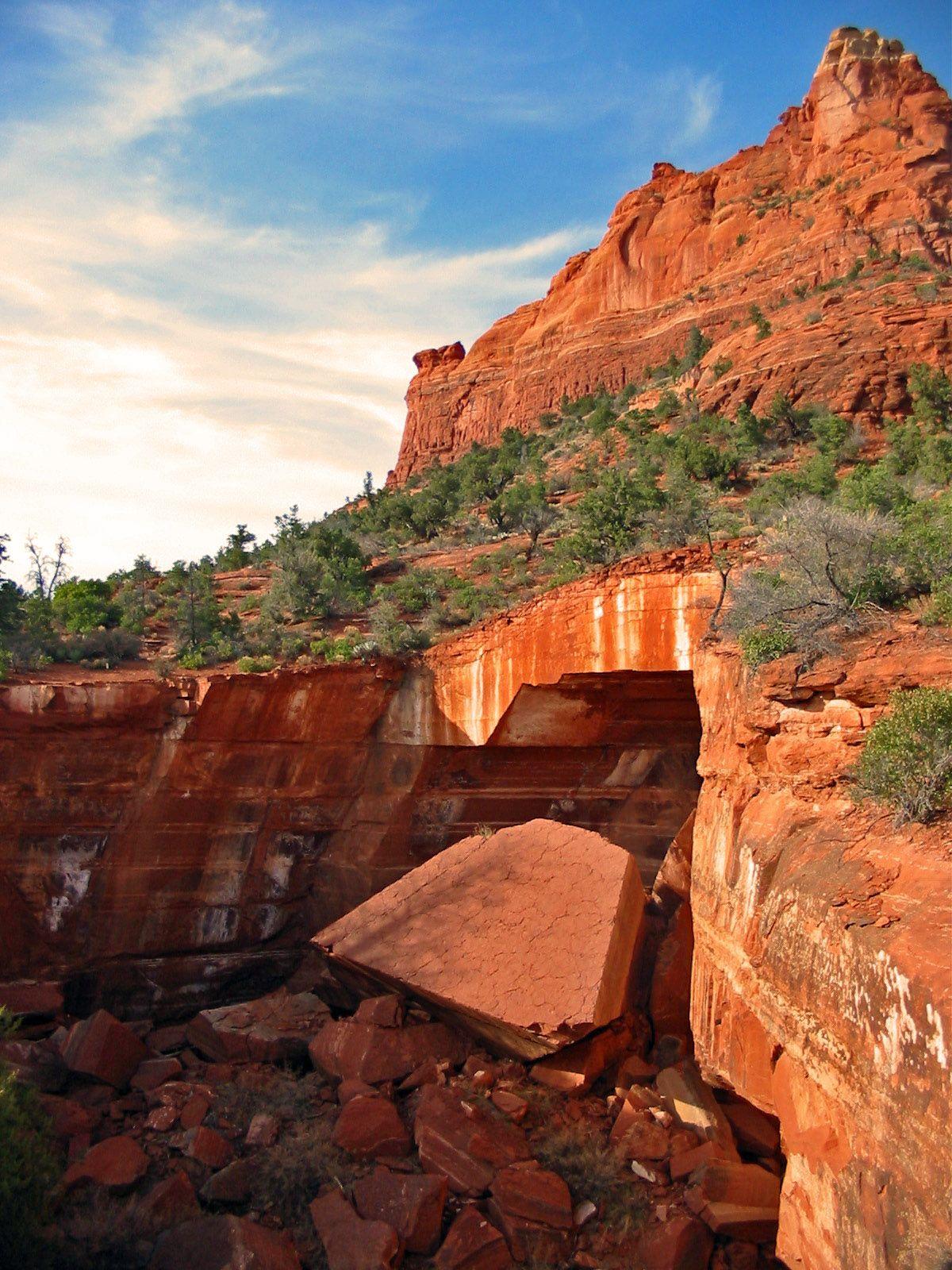 Devil s Kitchen sinkhole Sedona Arizona USA