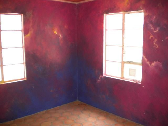 Painting Bedroom Walls Storm Wall Mural Phoenix Home House Real Estate Photo