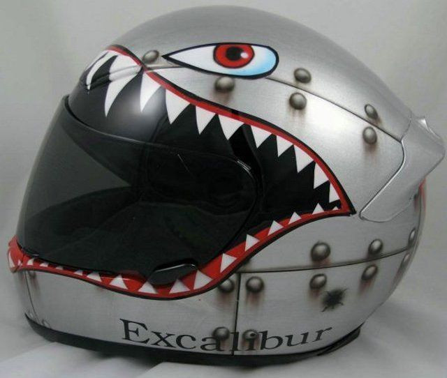 Cool Motorcycle Helmets Now Thats Nifty