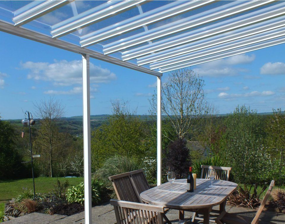 CLEAR AS GLASS carport patio canopy cover lean to awning