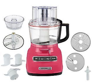 KitchenAid 9Cup Exact Slice Food Processor W French Fry