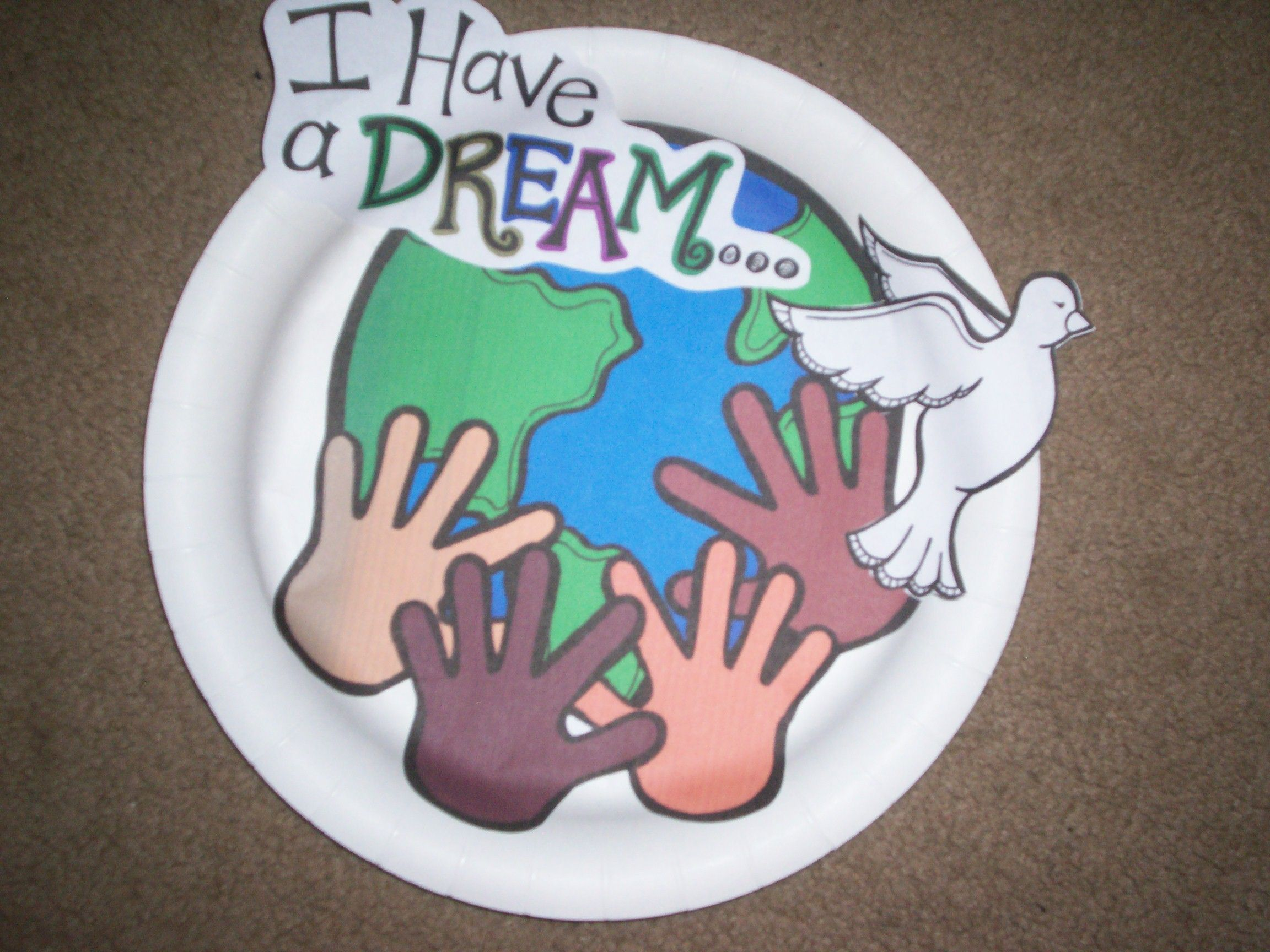 Craft For Martin Luther King Jr Birthday Included In My January Fun Unit On Tpt