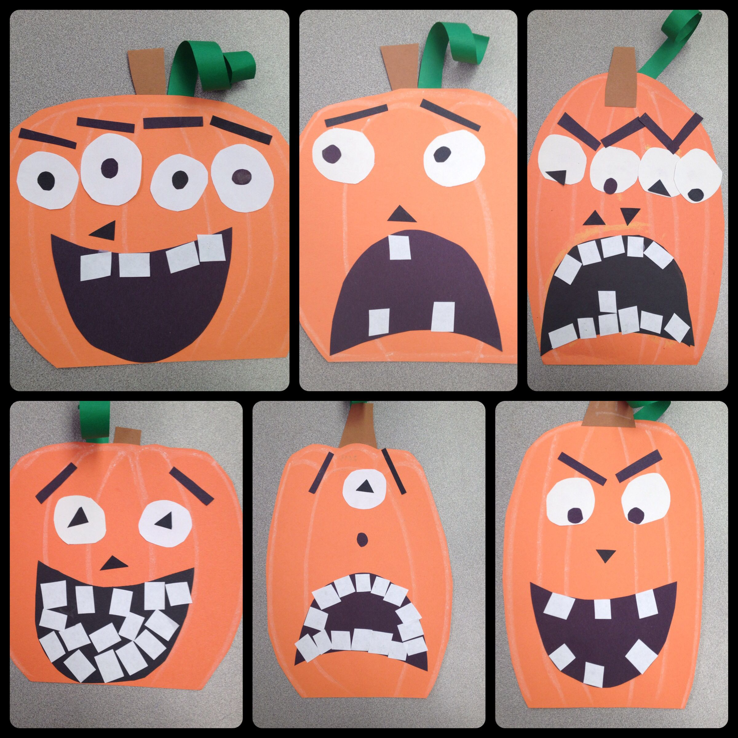 Halloween Pumpkin Art Lesson Project Special Education