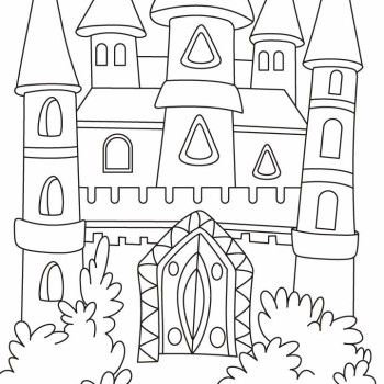 1000 images about coloring pages castles on pinterest castles
