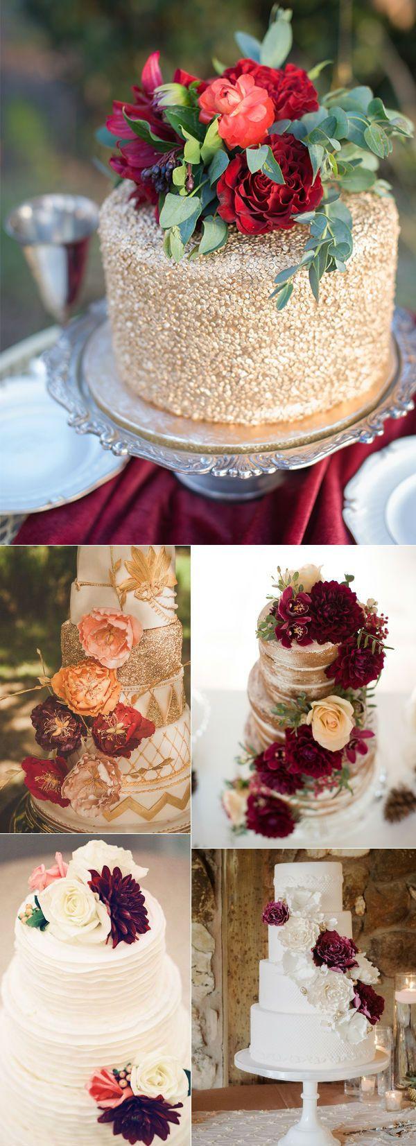 32 Amazing Wedding Cakes Perfect For Fall Wedding cake