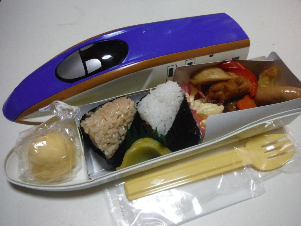 Bullet Train E7 Bento Tokyo Station There Are Various
