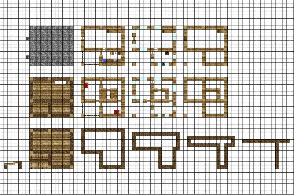 this is a small farmhouse I designed for a addon to the