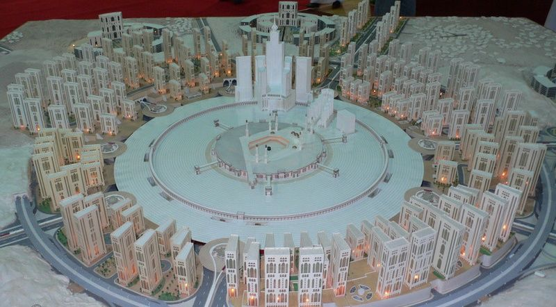 masterplan of mecca city in future
