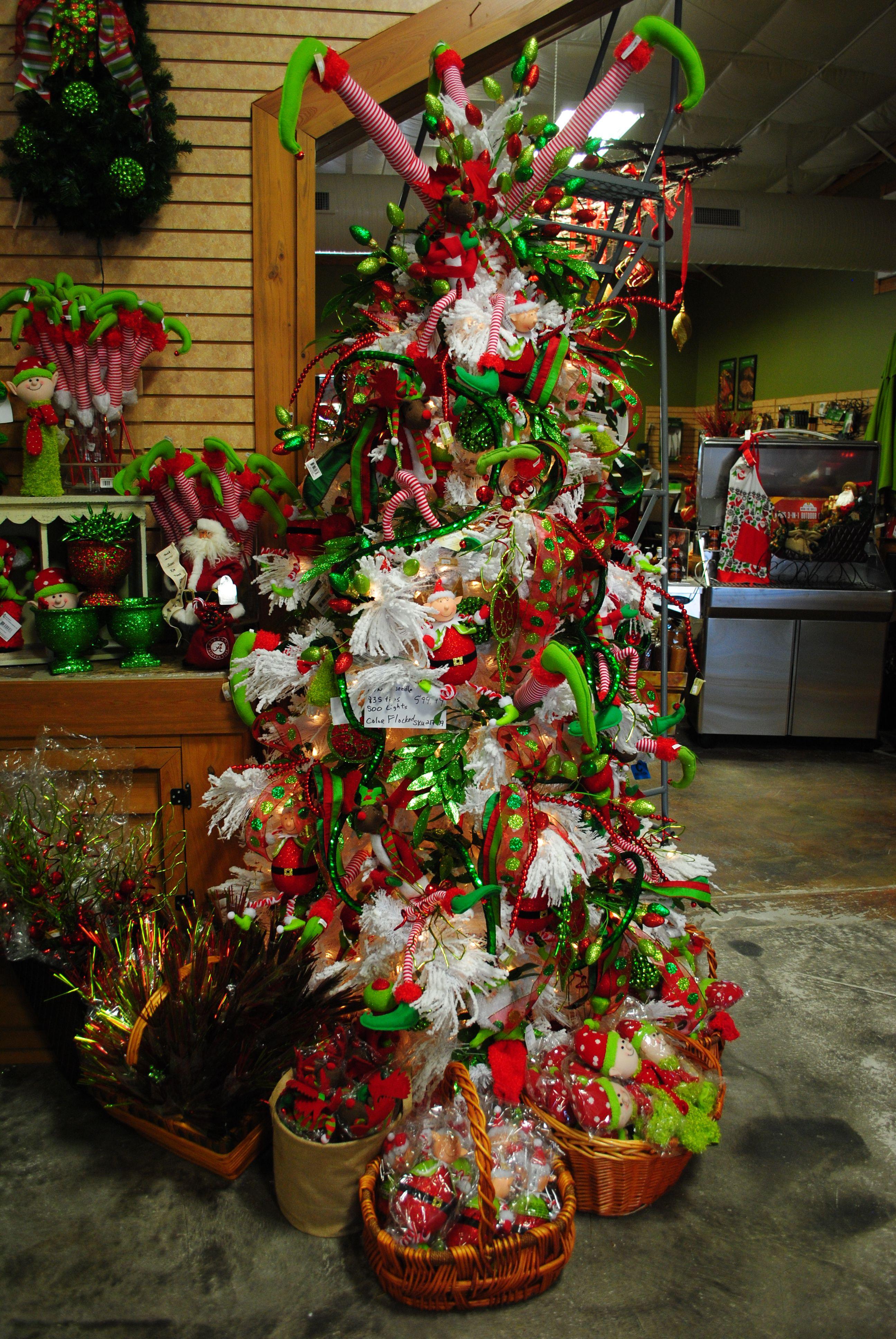 Elf Christmas tree decorations Woerner's Christmas
