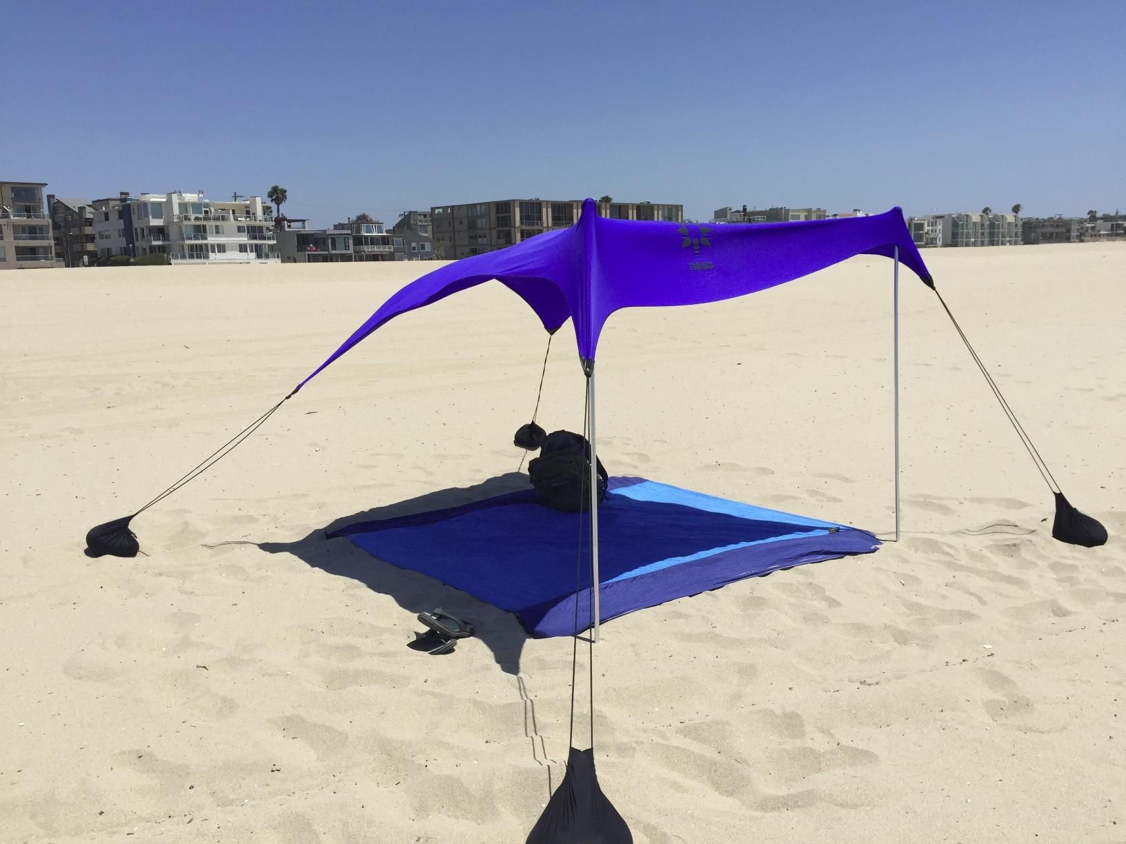 Beach Tent with Sand Anchor, Portable Canopy
