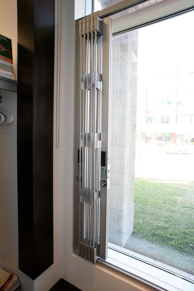 Glassessential folding window grilles are designed to