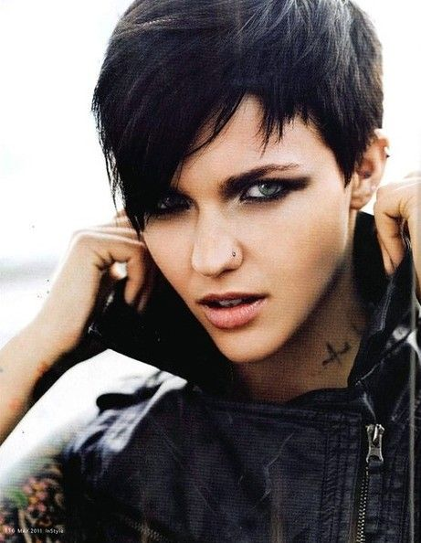 Best 25 Edgy pixie haircuts  ideas on Pinterest  Edgy