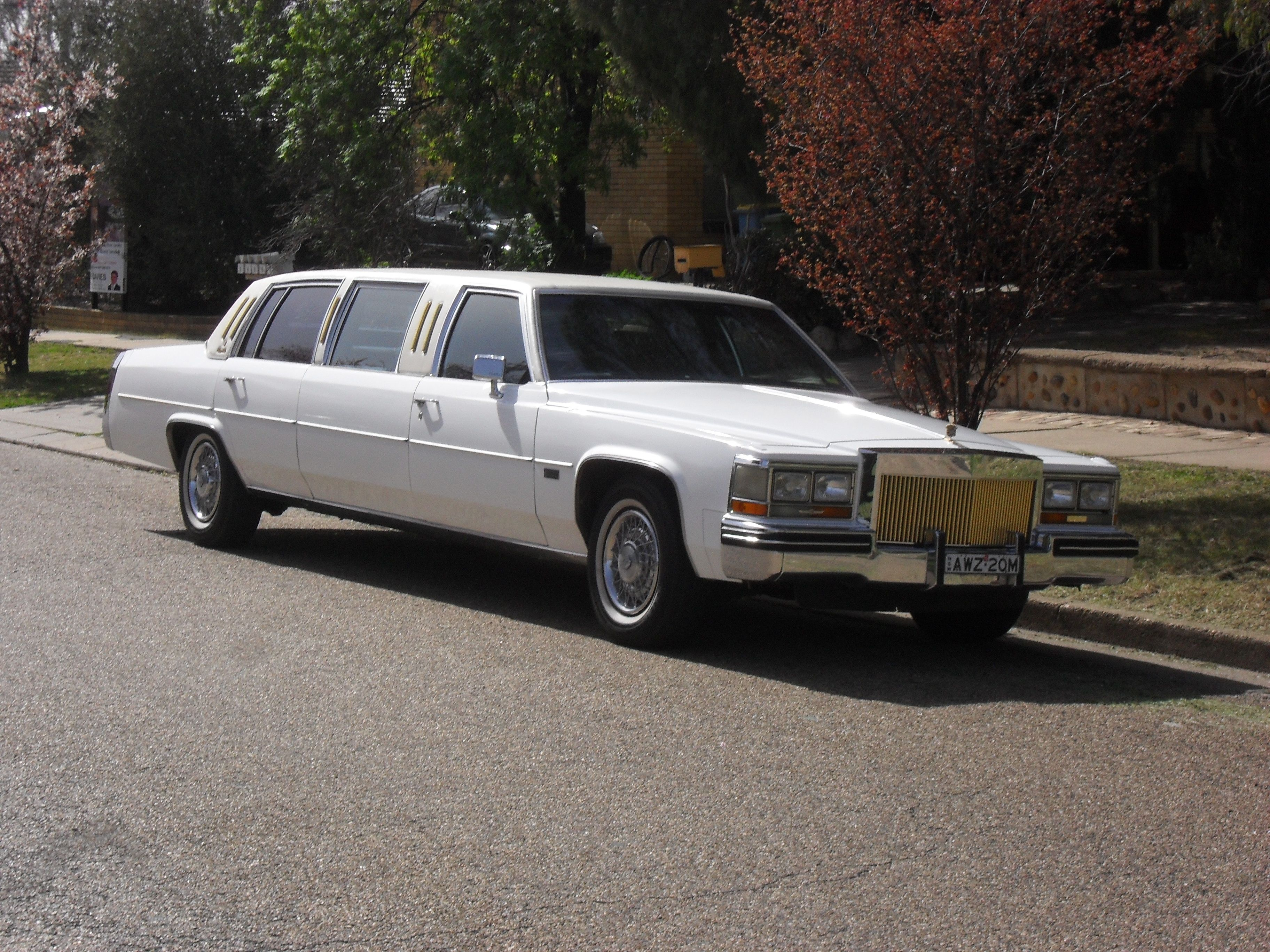 Cadillac DeVille Stretch Limo Love this one How about you Have a