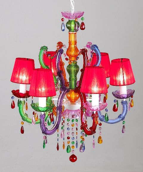 Large Shaded Gypsy Chandelier Delicious Deco Lighthing Table Lamp Wall