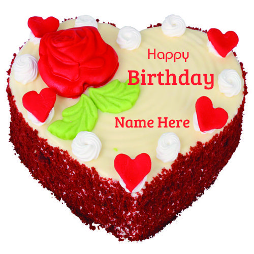 Happy Birthday Special Fruit Cake With Your Name.Write