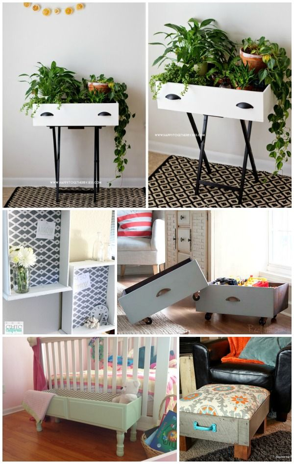 5 Ways to Repurpose a Drawer Storage bins, Creative and