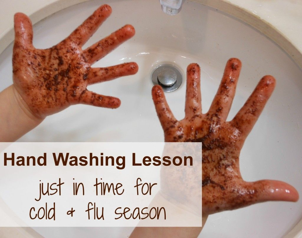Hand Washing Activity For Kids