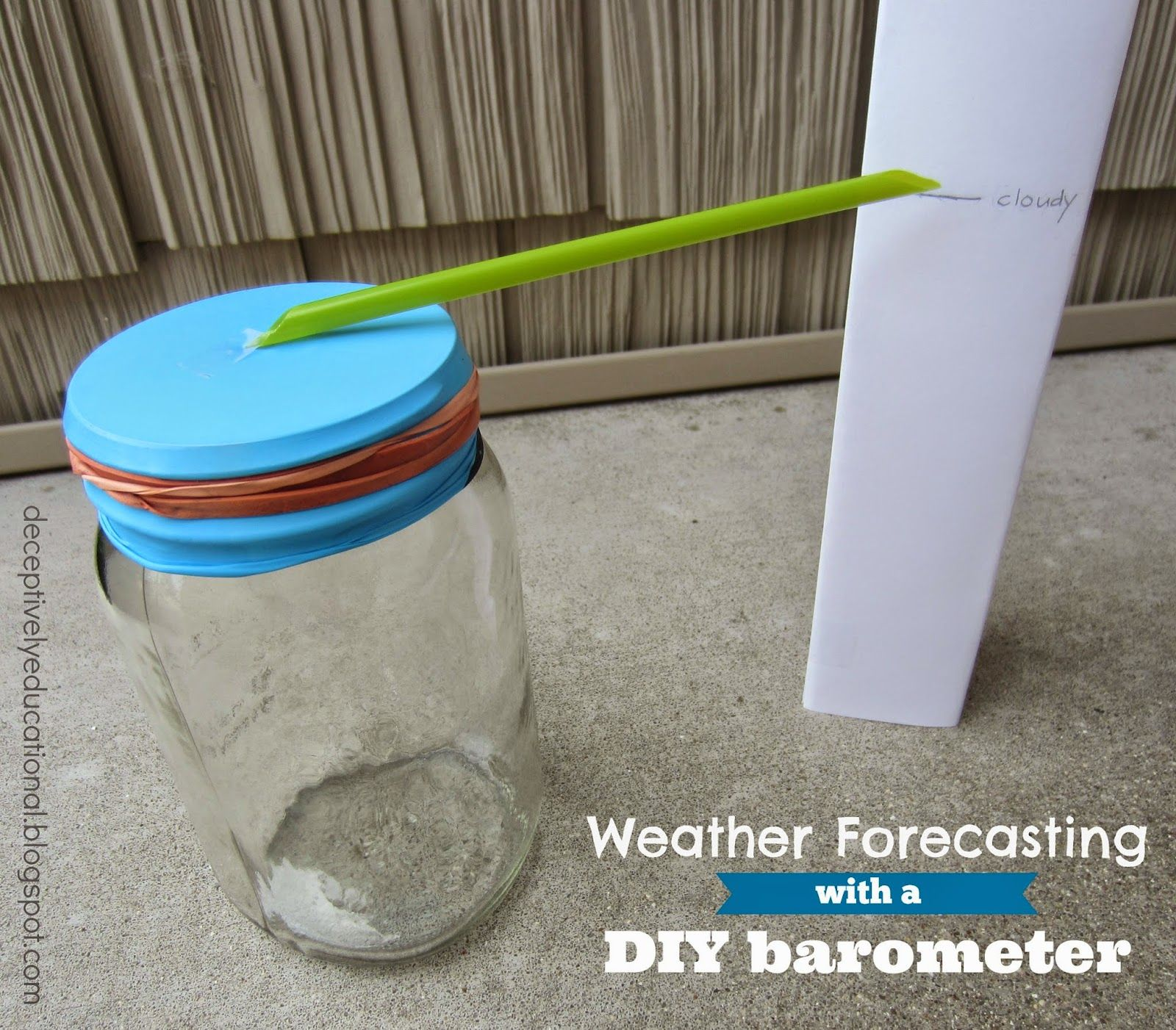 Weather Forecasting With A Diy Barometer Relentlessly Fun