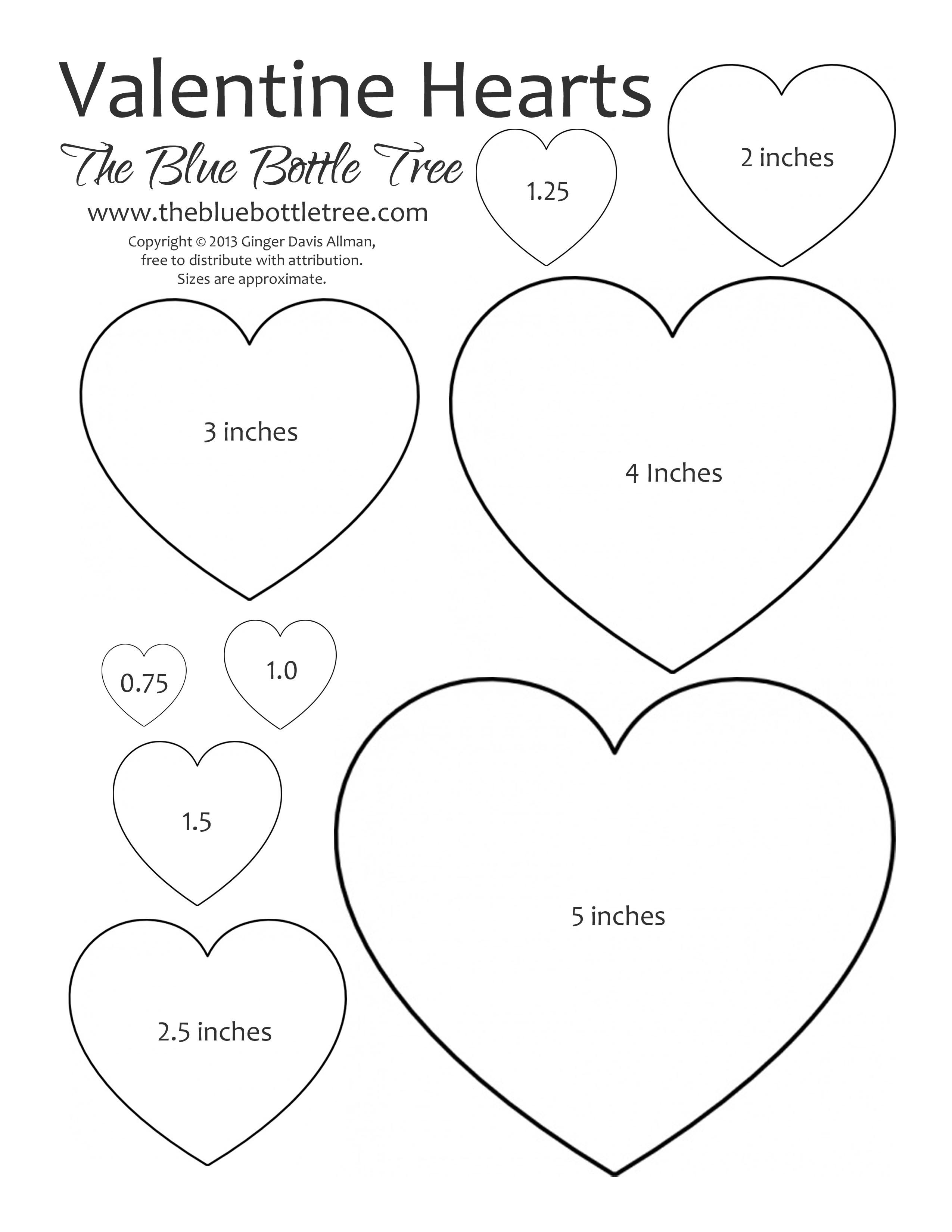 Valentine Hearts Clip Art In Sizes Ranging From 3 4 To 5